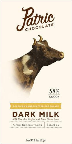 Patric 58% Dark Milk Chocolate