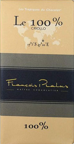 Francois Pralus Madagascar 100% Dark Chocolate - Chocolate Collective Canada
