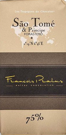 Francois Pralus Sao Tome 75% Dark Chocolate - Chocolate Collective Canada
