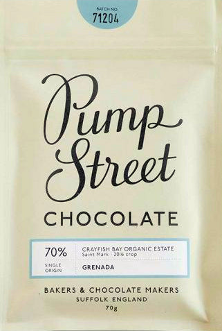 Pump Street Crayfish Bay Grenada 70% Dark Chocolate
