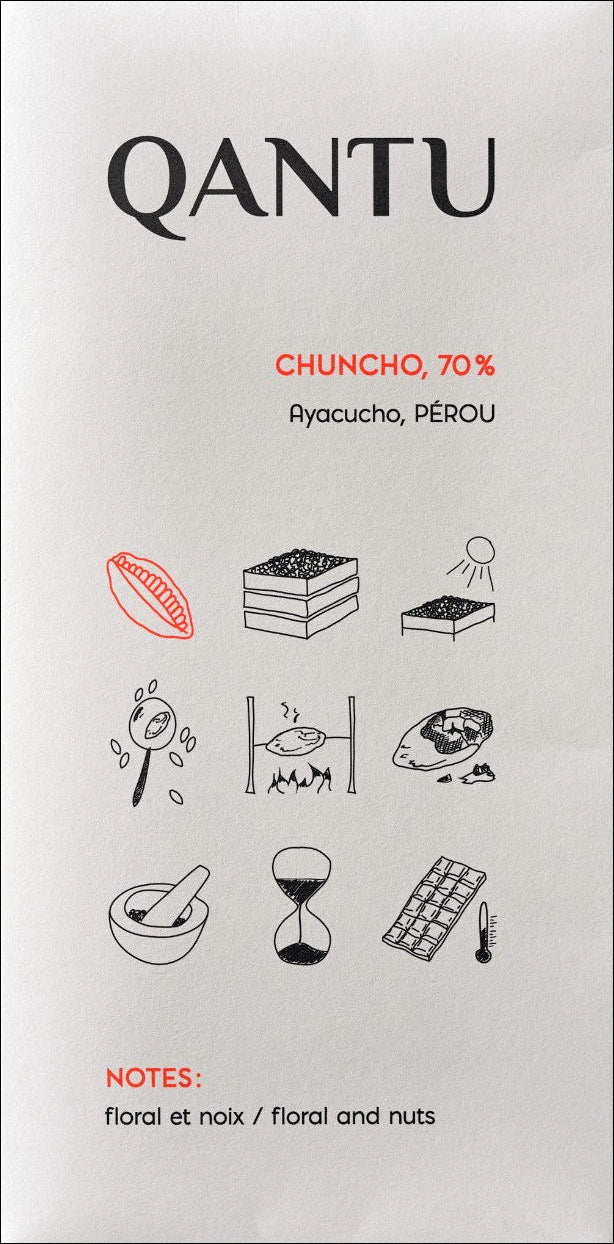 Qantu Chuncho 70% Dark Chocolate - Chocolate Collective Canada