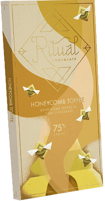 Ritual Belize 75% Dark Chocolate with honeycomb & toffee (Organic)