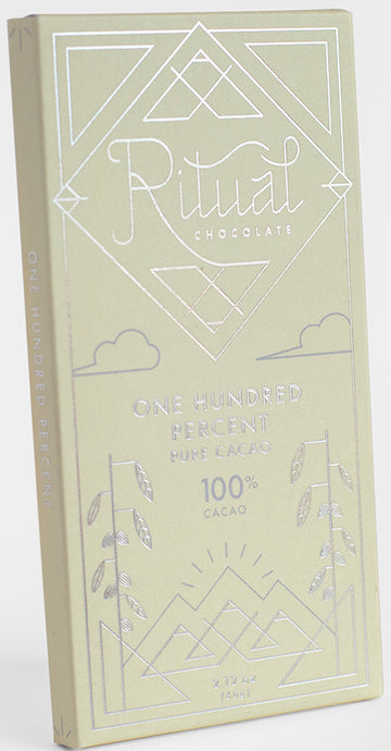 Ritual 100% Dark Chocolate - Chocolate Collective Canada