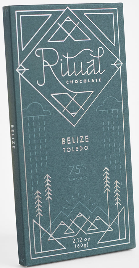 Ritual Belize 75% Dark Chocolate (Organic) - Chocolate Collective Canada