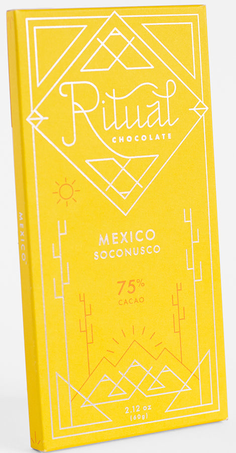 Ritual Mexican 75% Dark Chocolate - Chocolate Collective Canada