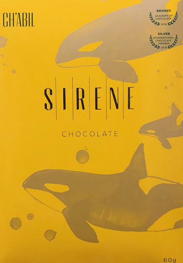 Sirene Guatemalan 65% Milk Chocolate with cardamom & cocoa nibs - Chocolate Collective Canada