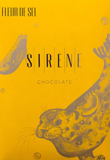 Sirene Ecuadorian 73% Dark Chocolate with sea salt - Chocolate Collective Canada