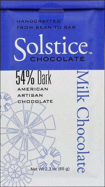 Solstice Ghana 54% Milk Chocolate - Chocolate Collective Canada