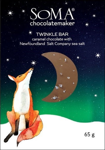 Soma Milk Chocolate with caramel & sea salt - Chocolate Collective Canada
