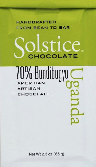 Solstice Uganda 70% Dark Chocolate - Chocolate Collective Canada