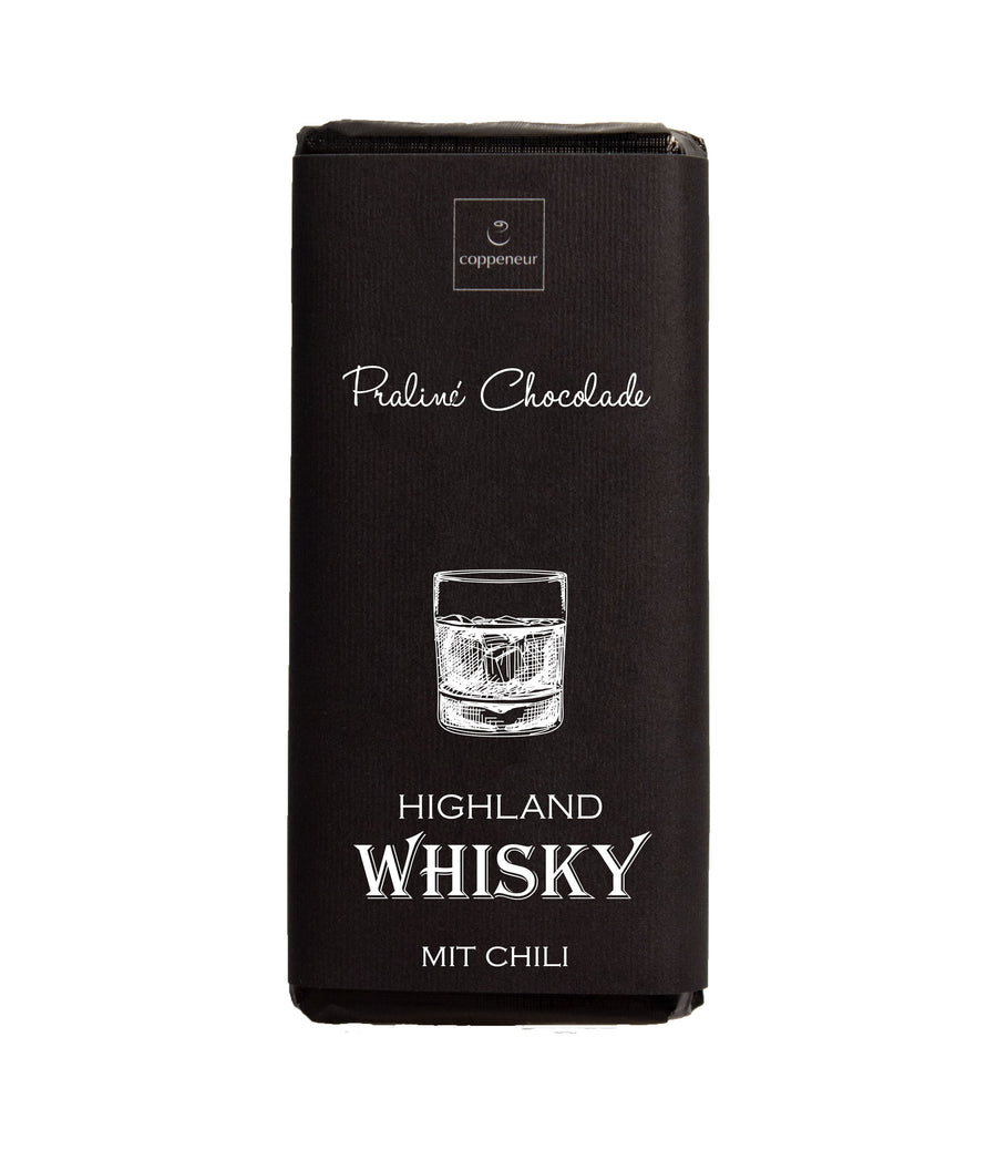 Coppeneur Chili & Whisky Dark Chocolate Bar - Chocolate Collective Canada