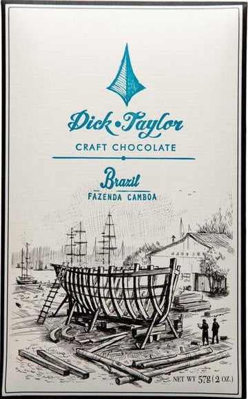 Dick Taylor Brazil 75% Dark Chocolate (Organic)