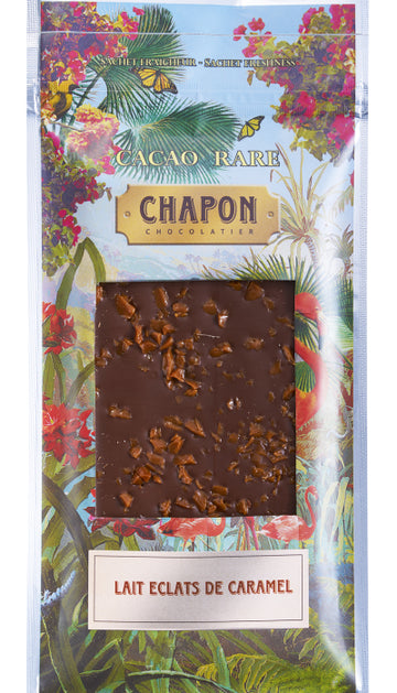 Chapon Milk Chocolate with caramel chips