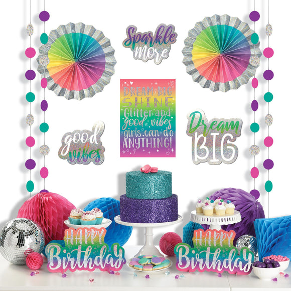 Sparkle Room Decorating Kit Birthday