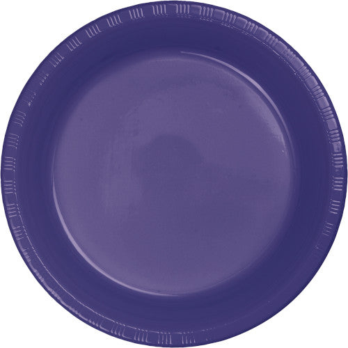 Purple Plastic 7