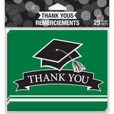 Grad Cap Thank You Cards