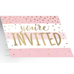Foil Celebration Invitations