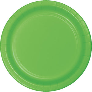 "Fresh Lime Paper 9"" Salad Plates"