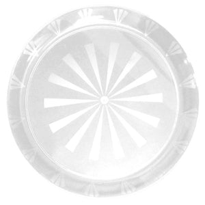 "16"" Round Trays - Clear N16"