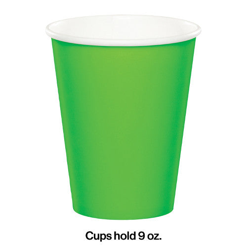 Fresh Lime Paper Cups