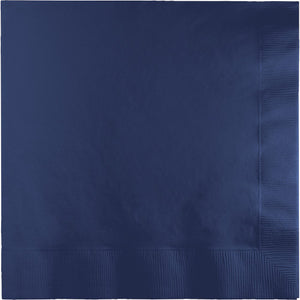 Navy Luncheon Napkins