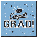 Blue Graduation Napkin