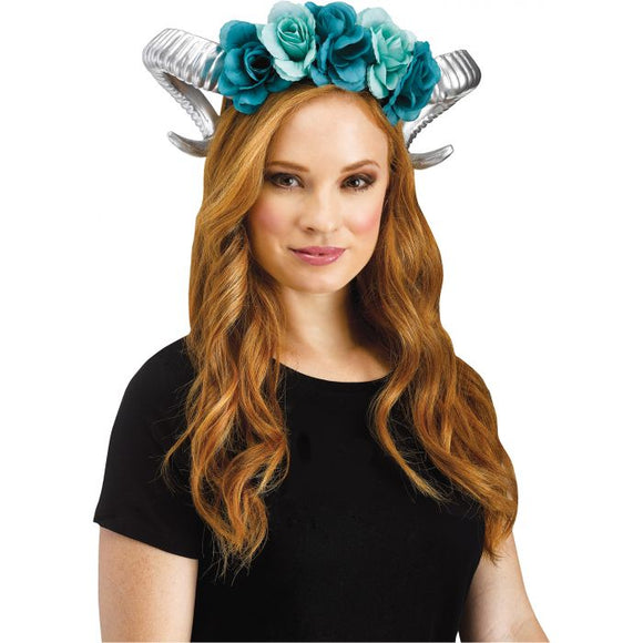 Horn Flower Headpiece