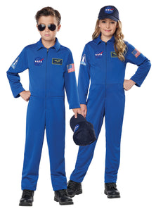 Blue NASA Space Costume