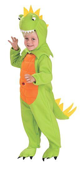 Green Orange and Yellow Dinosaur