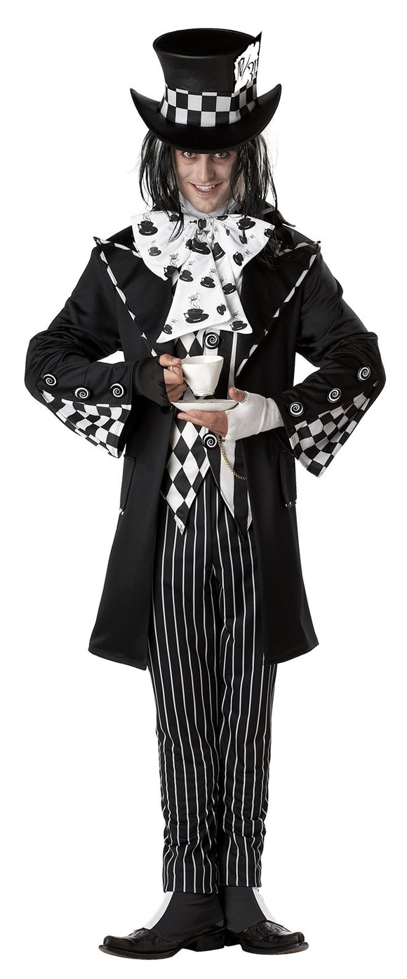 Black and White Mad Hatter