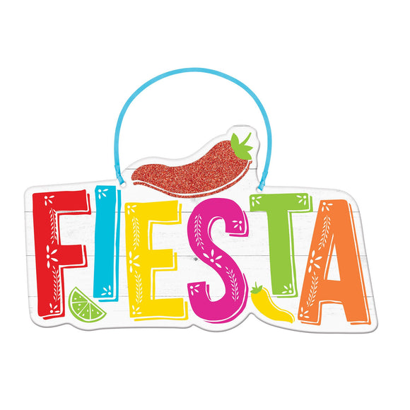 Fiesta Hanging Sign