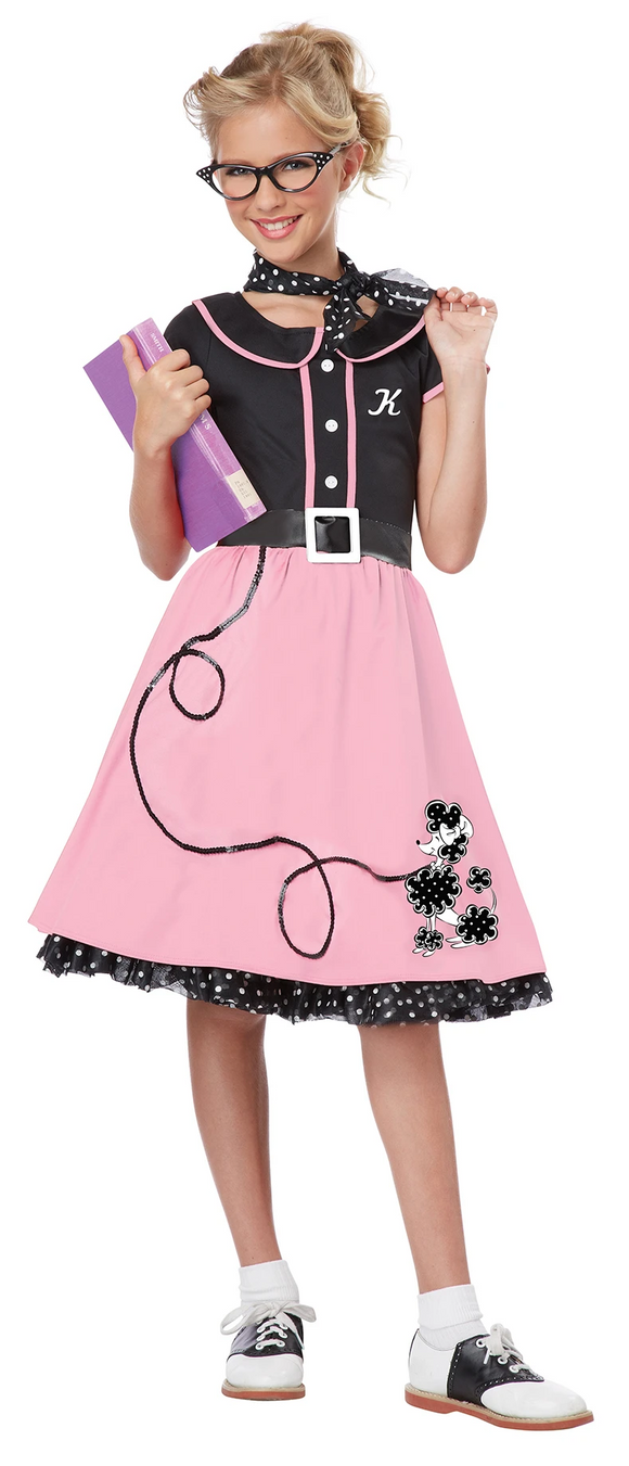 Poodle Skirt Dress 50's Style