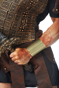 Gladiator Metal Cuff with Studs