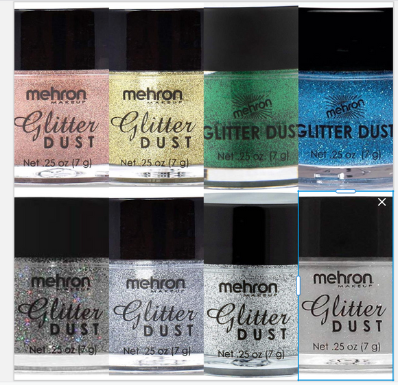 Mehron Glitter Dust .25oz