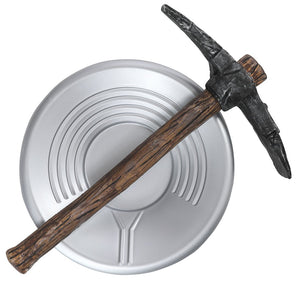 Gold Miner Pan and Axe