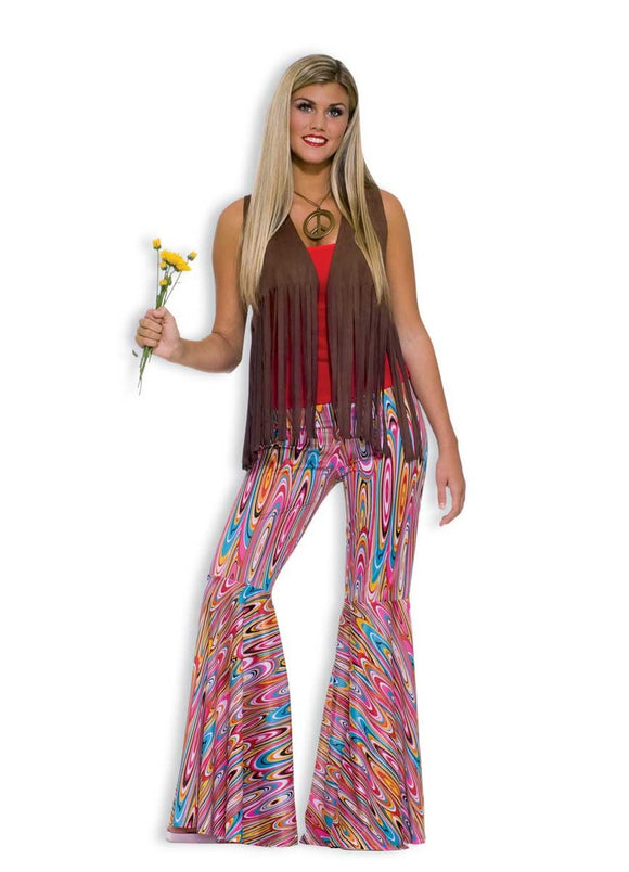Wild swirly colored pants