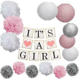 """It's a"" Baby Shower Garland Kit"