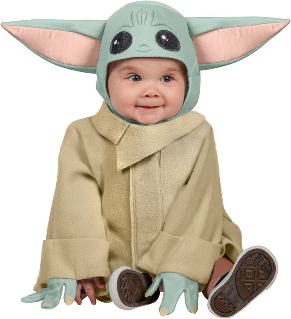 Robe and Baby Yoda headpiece