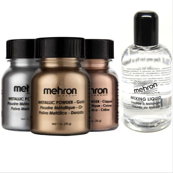 Metallic Powder with Mixing Liquid