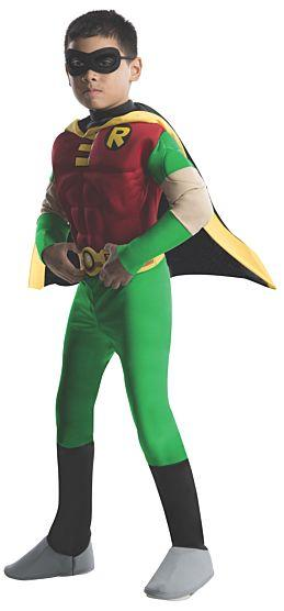 Classic Robin colored costume