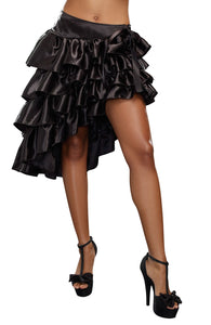 Hi Lo ruffled skirt