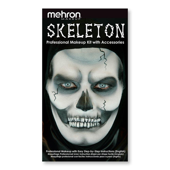Professional Skeleton Makeup Kit