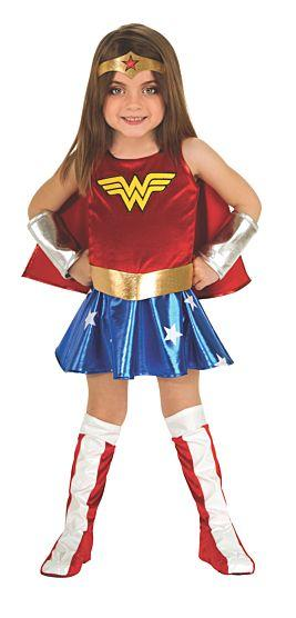 WW Red, White and Blue costume