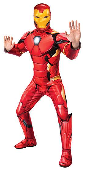 Iron Man Jumpsuit with boot tops and mask