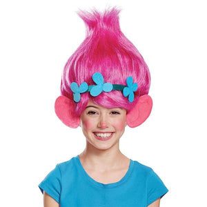 Pink Poppy Wig with ears