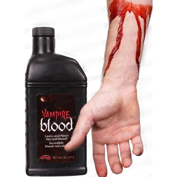 Realistic Red Blood Color