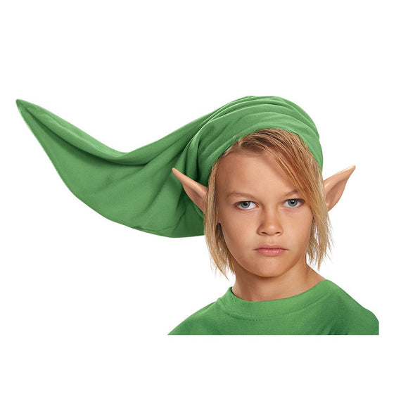Green elf hat and vinyl ears