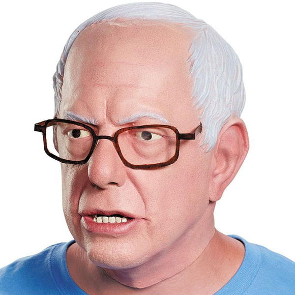 Bernie Sanders mask with glasses