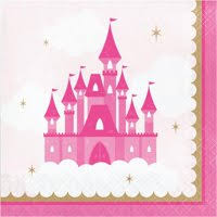 Little Princess Luncheon Napkins