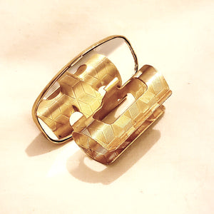 Vintage Art Deco Mirror Lipstick Holder - Wildly Free